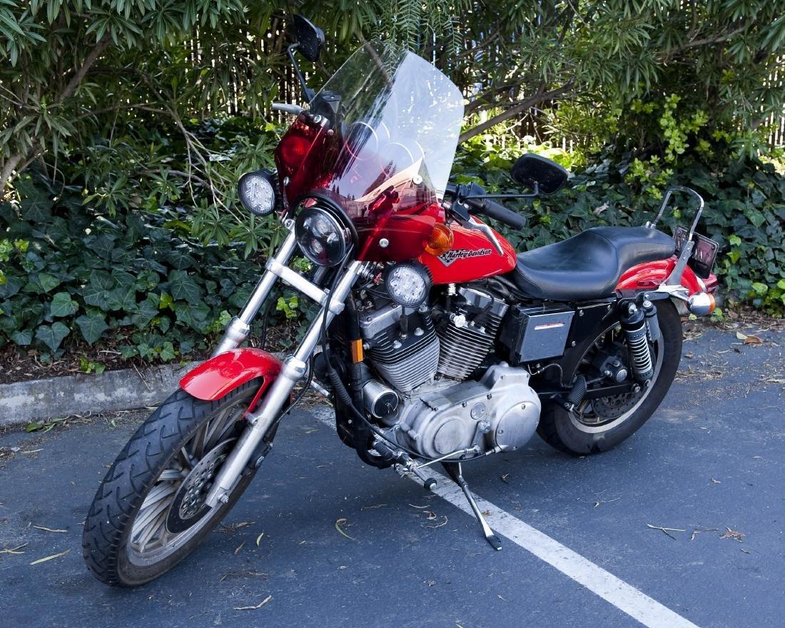 1999 Harley Davidson XL 1200S Motorcycle.