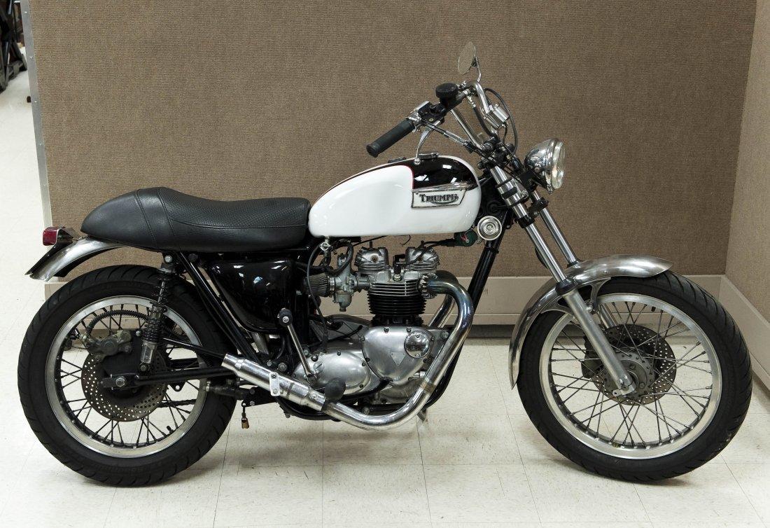 1978 Triumph Bonneville T140V Motorcycle.
