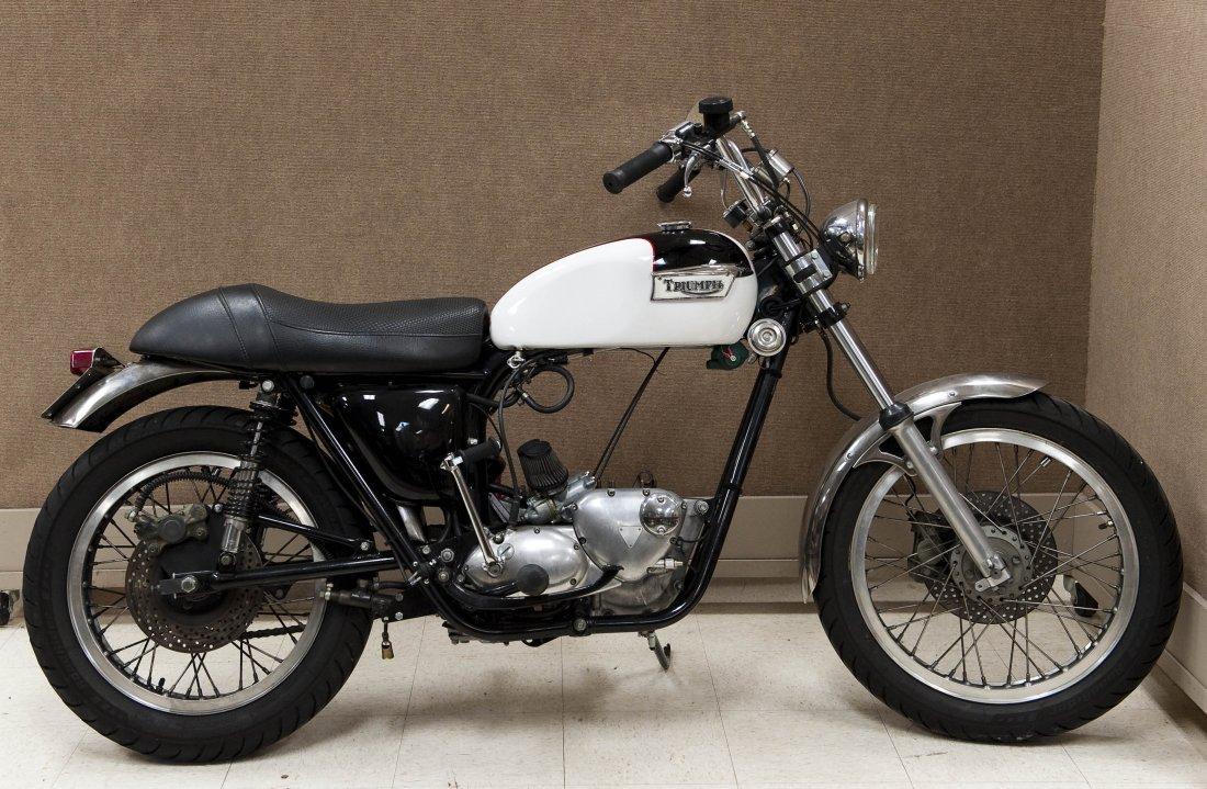 1978 Triumph Bonneville T140V Motorcycle. - 3