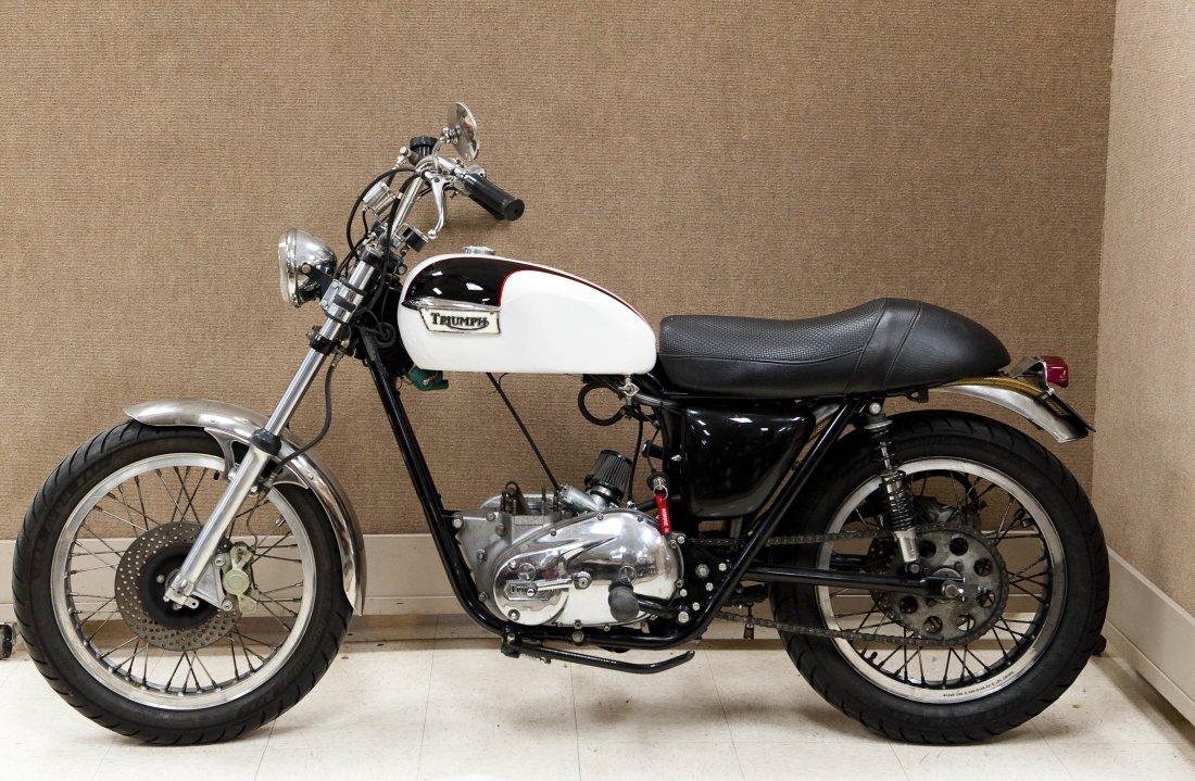 1978 Triumph Bonneville T140V Motorcycle. - 4