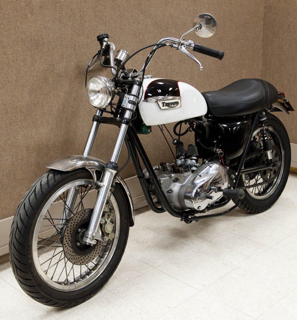 1978 Triumph Bonneville T140V Motorcycle. - 5