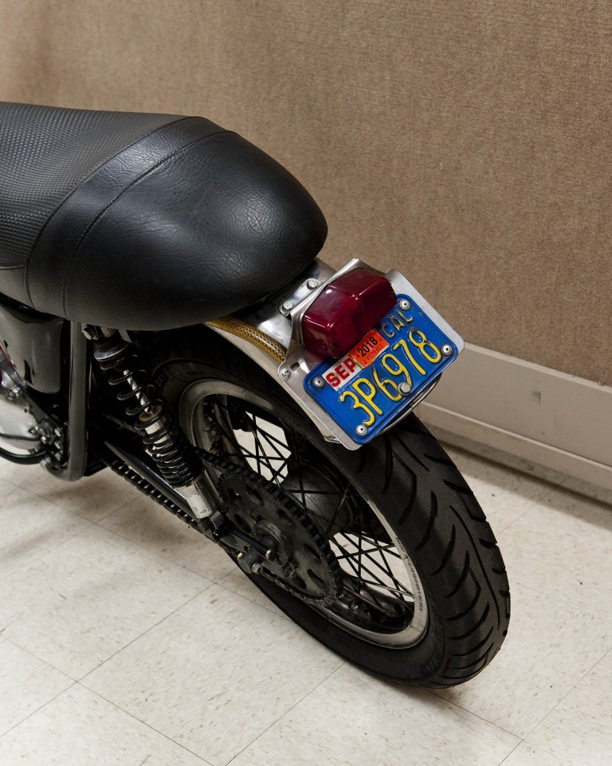 1978 Triumph Bonneville T140V Motorcycle. - 6