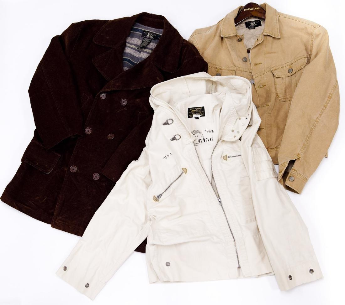 (2) Ralph Lauren RRL Jackets & Field Garment.
