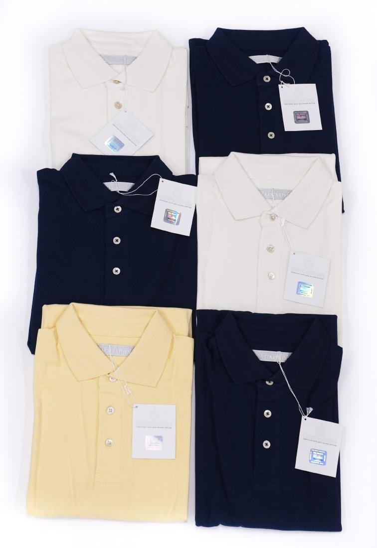 (6) Carstarphen Polo Shirts.