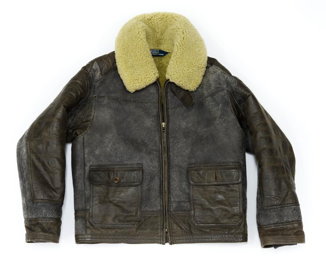 Ralph Lauren Polo Leather Jacket.