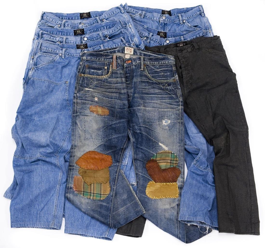 (6) Ralph Lauren RRL Men's Jeans.