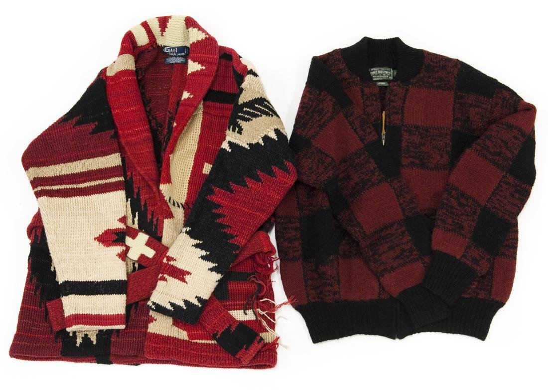 Ralph Lauren Polo Sweater and Jacket.