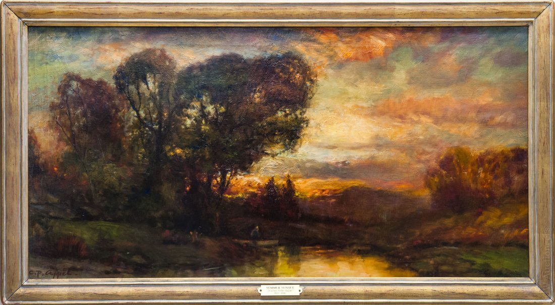 Charles Appel Oil on Canvas.