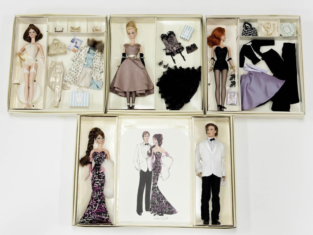 (4) Barbie Fashion Model Gift Sets.