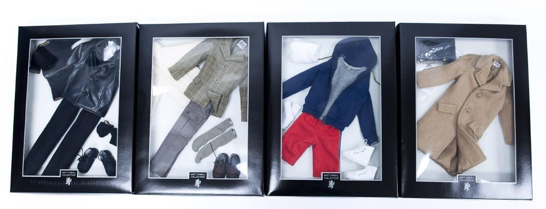 (4) Matt O'Neill Collection Tonner Doll Outfits.