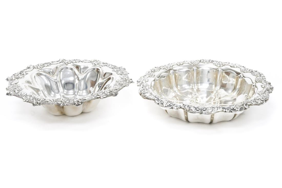 (2) Sterling Silver Bowls.
