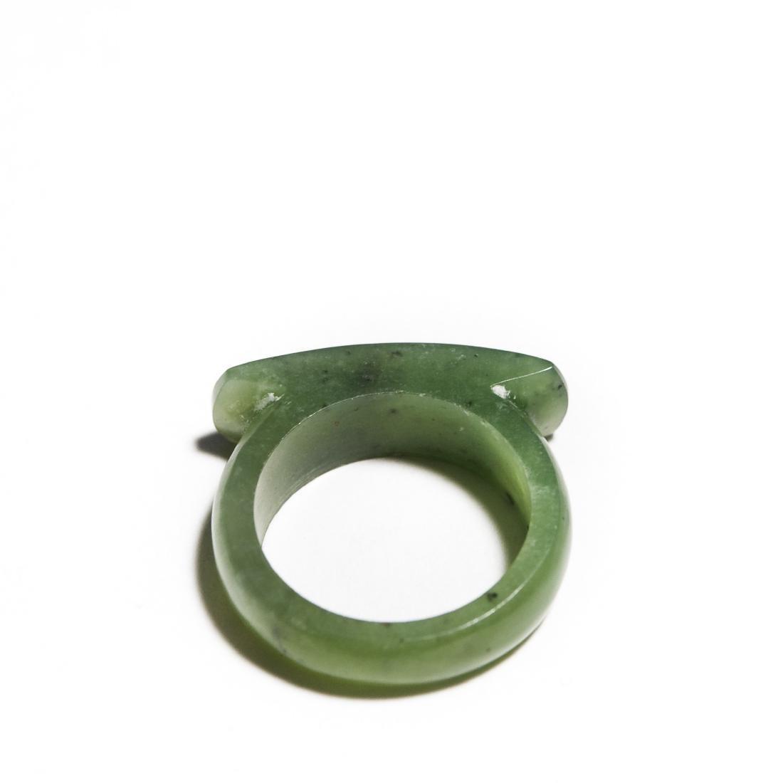 Group Of 5 Jade Rings. - 5
