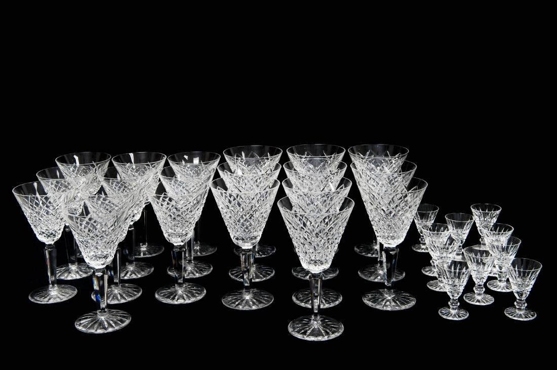Waterford Crystal Stemware, 32 Pieces.