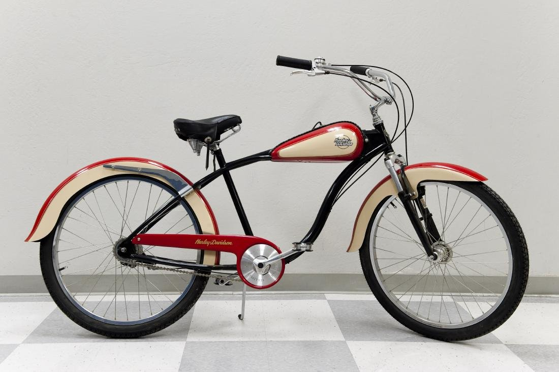 Harley Davidson Limited Edition Velo Glide Bicycle.