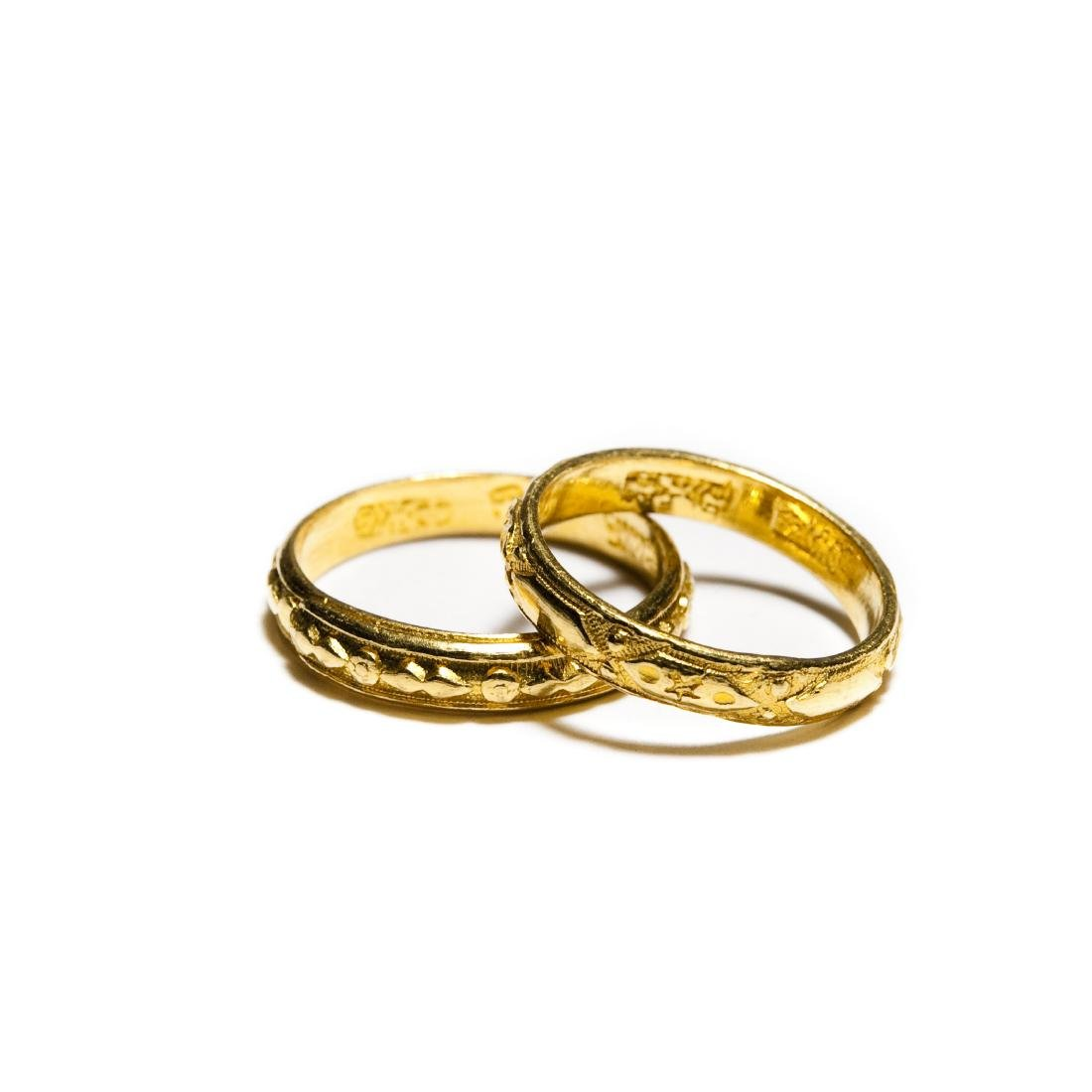 (2) Chinese Gold Bands.