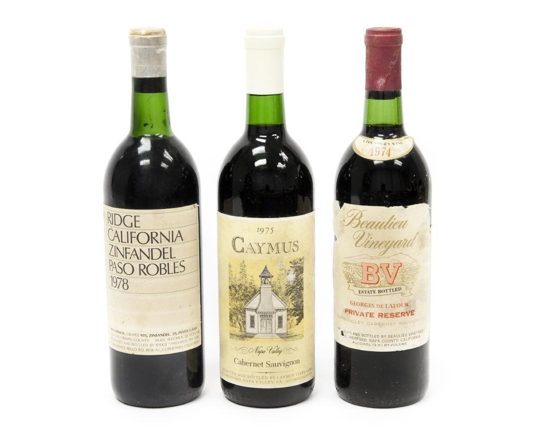 (3) Bottles Of California Wine.