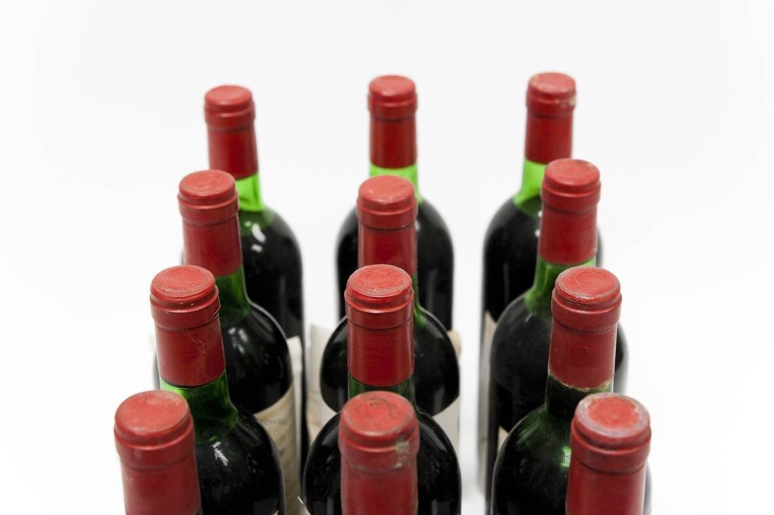 (12) Bottles Of 1976 Chateau Greysac Medoc. - 3