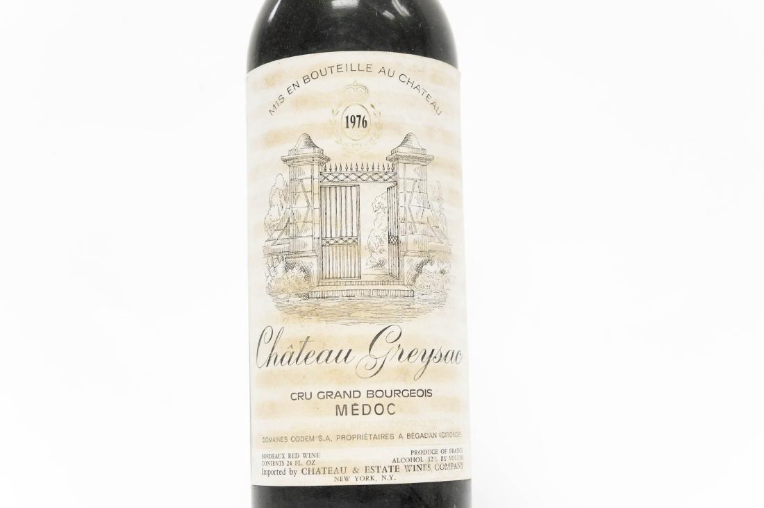 (12) Bottles Of 1976 Chateau Greysac Medoc. - 4