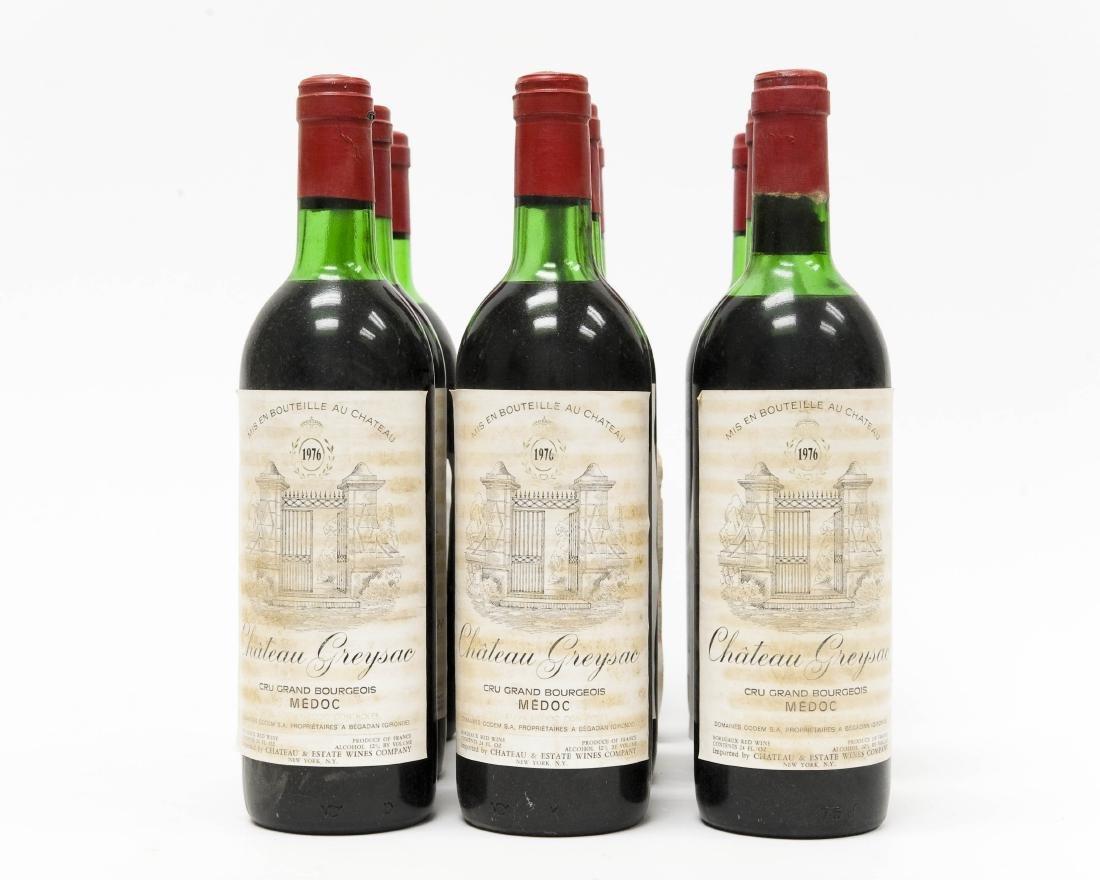 (12) Bottles Of 1976 Chateau Greysac Medoc. - 5