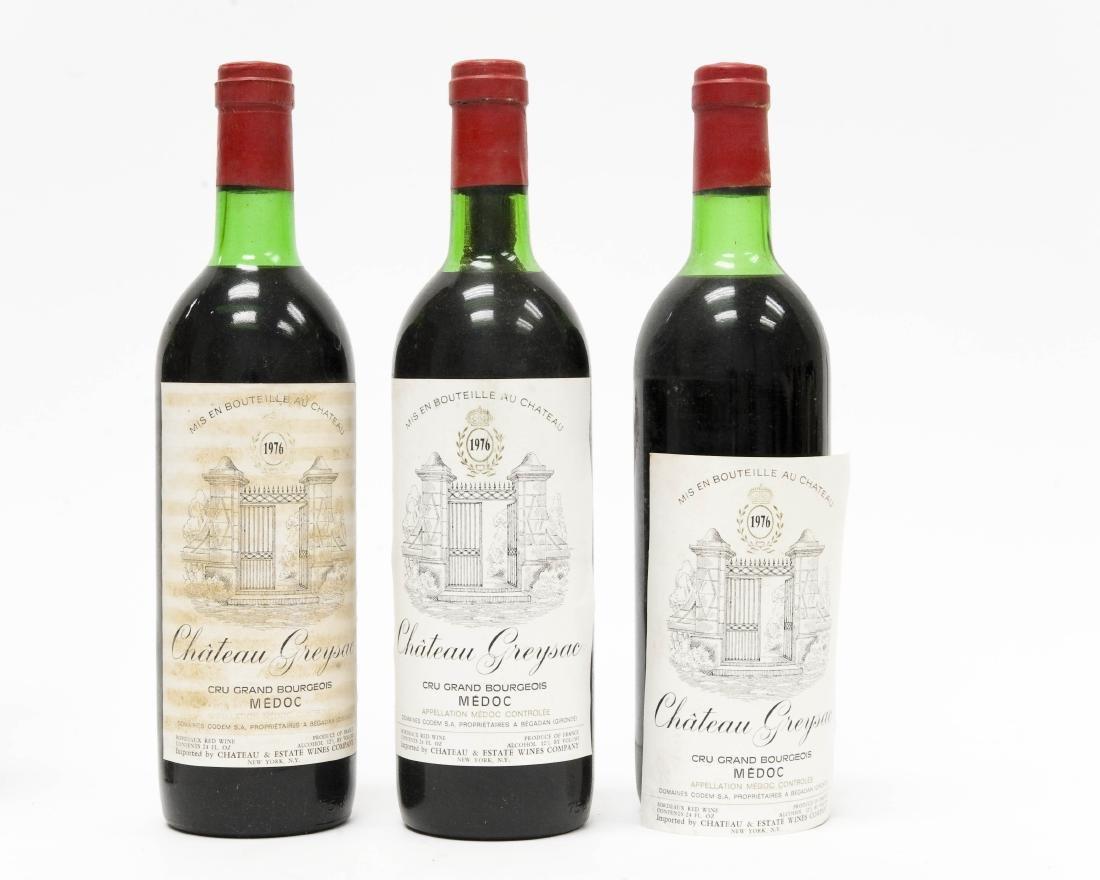 (12) Bottles Of 1976 Chateau Greysac Medoc. - 6