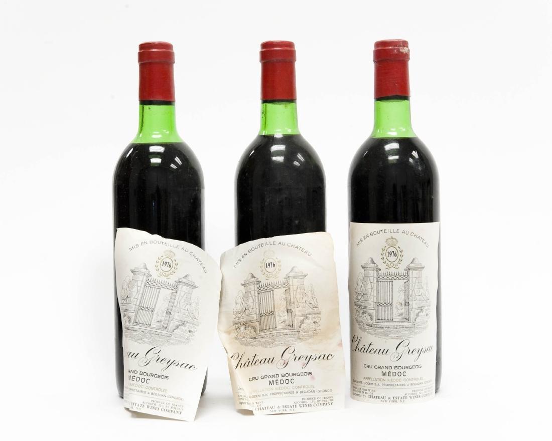 (12) Bottles Of 1976 Chateau Greysac Medoc. - 7