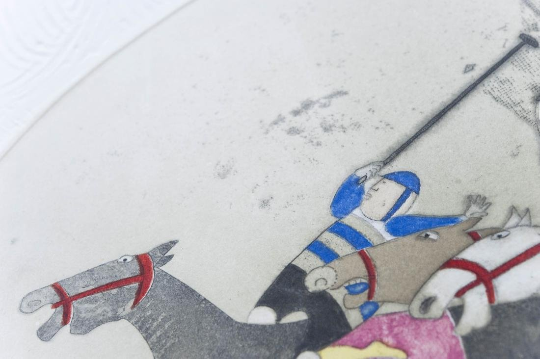 (3) G. Rodo Boulanger Signed Lithographs. - 9