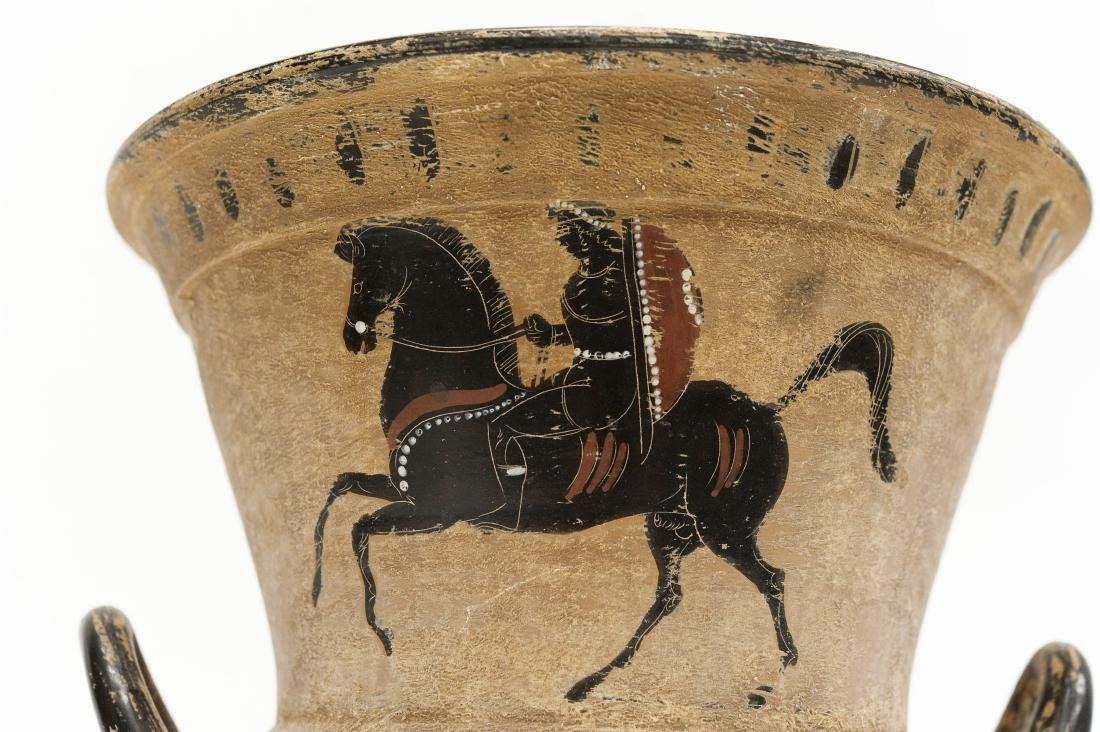 Etruscan Style 2-handled Pottery Vessel. - 7