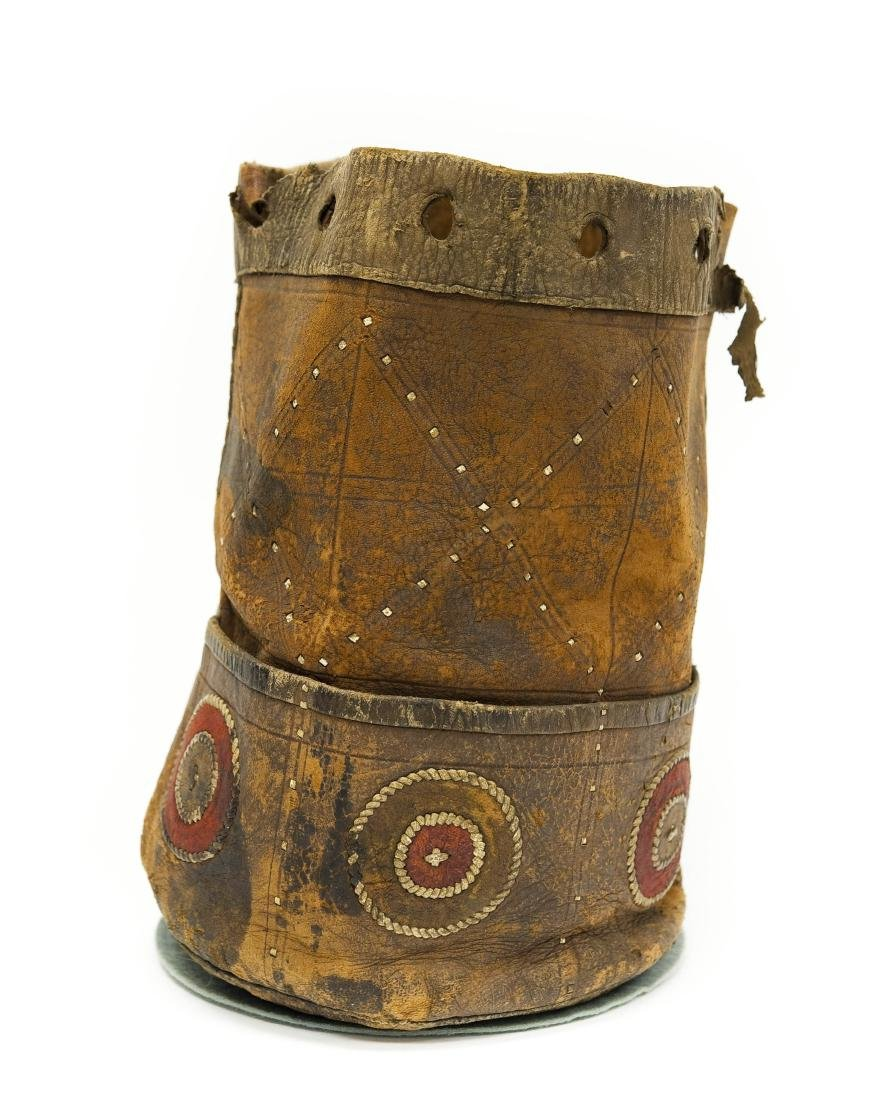 Native American Leather Quiver / Bag.