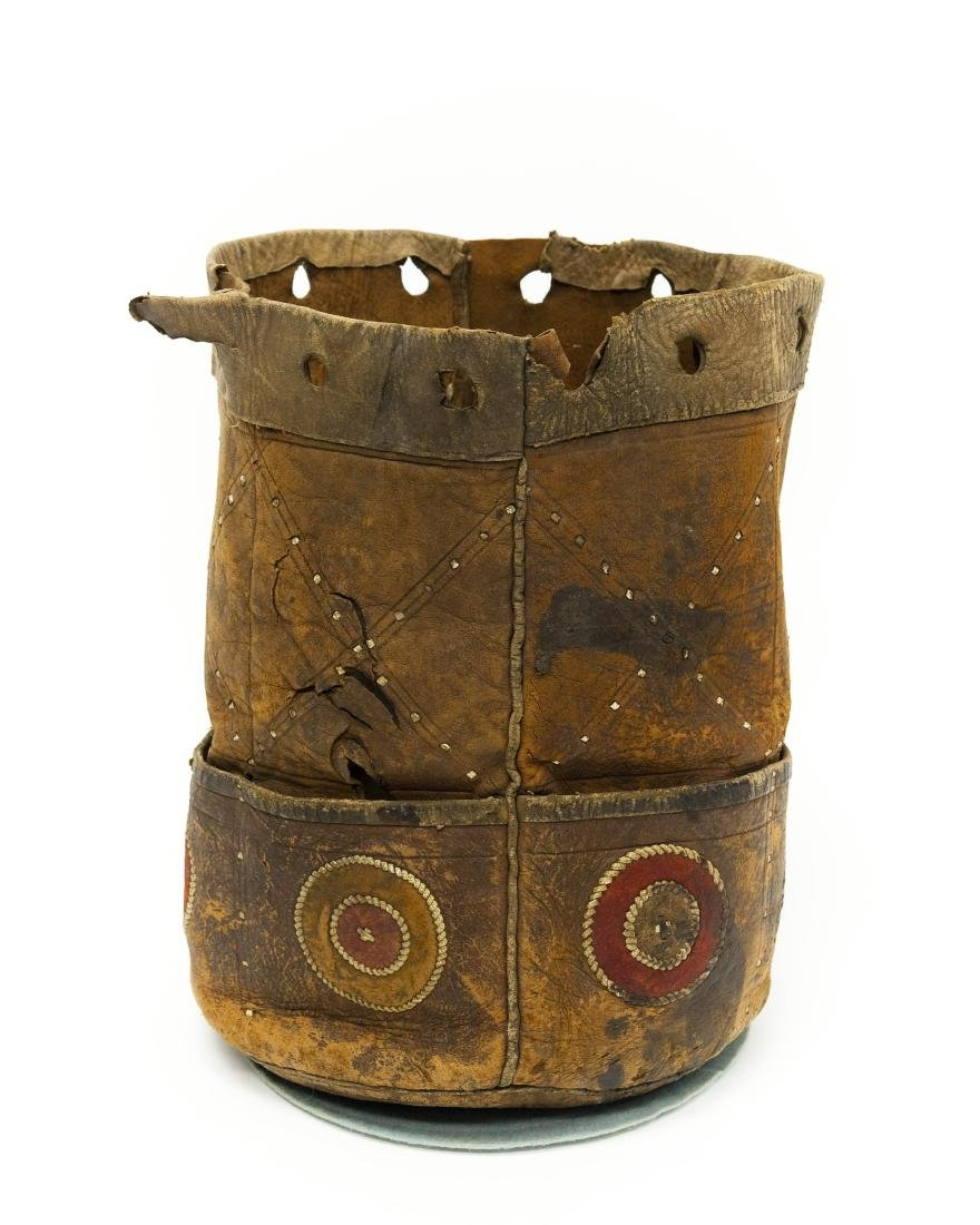 Native American Leather Quiver / Bag. - 2