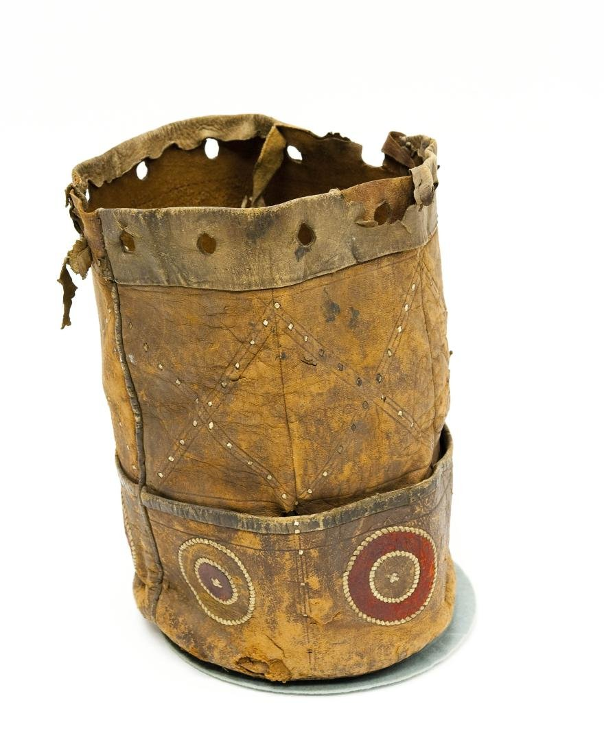 Native American Leather Quiver / Bag. - 3