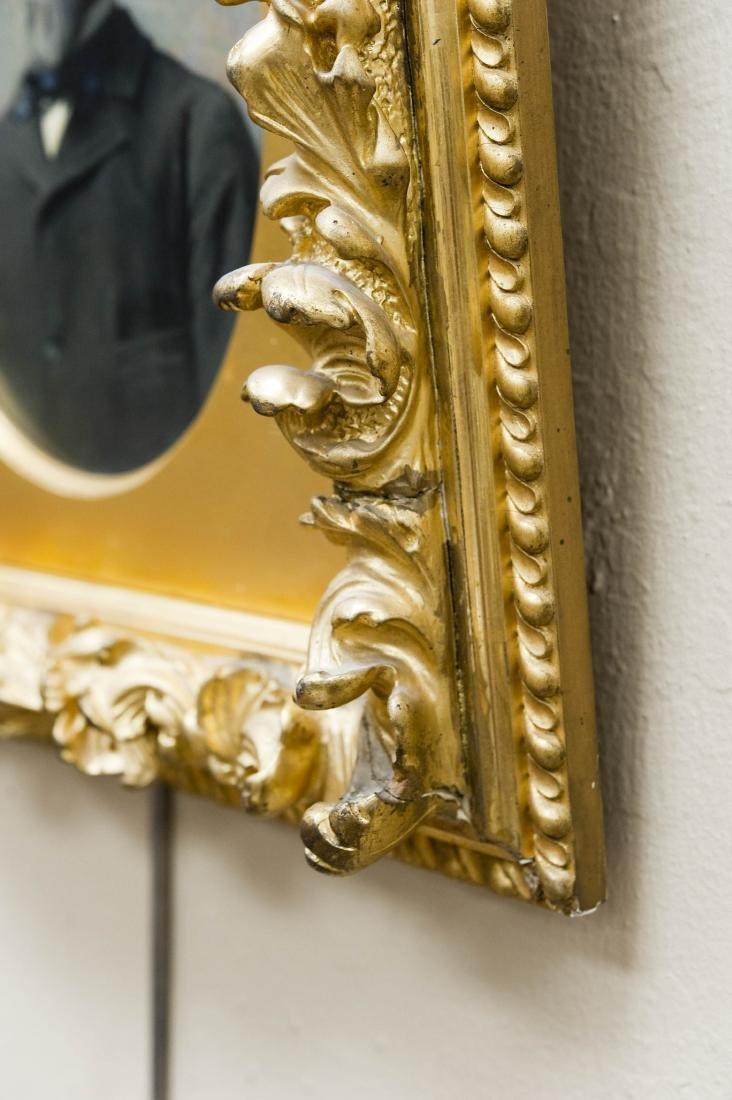 Ferdinand Boyle Oil on Board, Portrait of a Gentleman. - 4