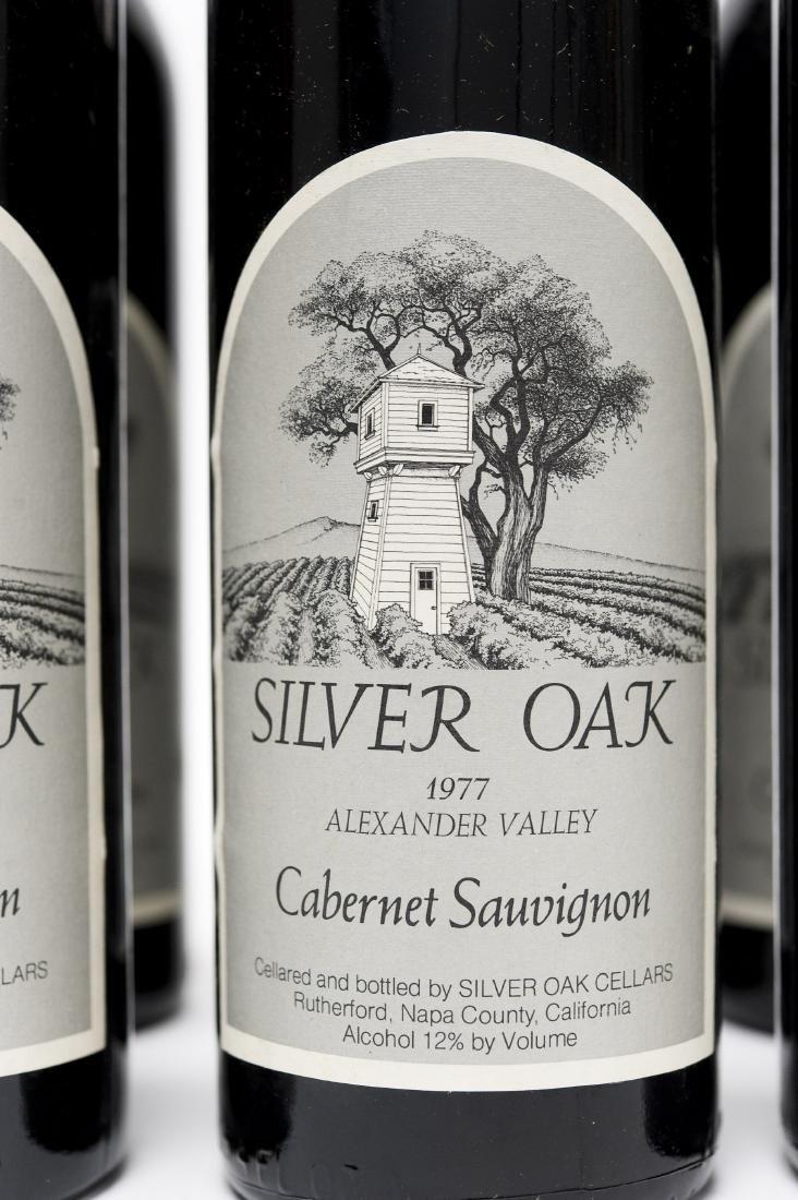 (6) Bottles, 1977 Silver Oak Cabernet. - 2
