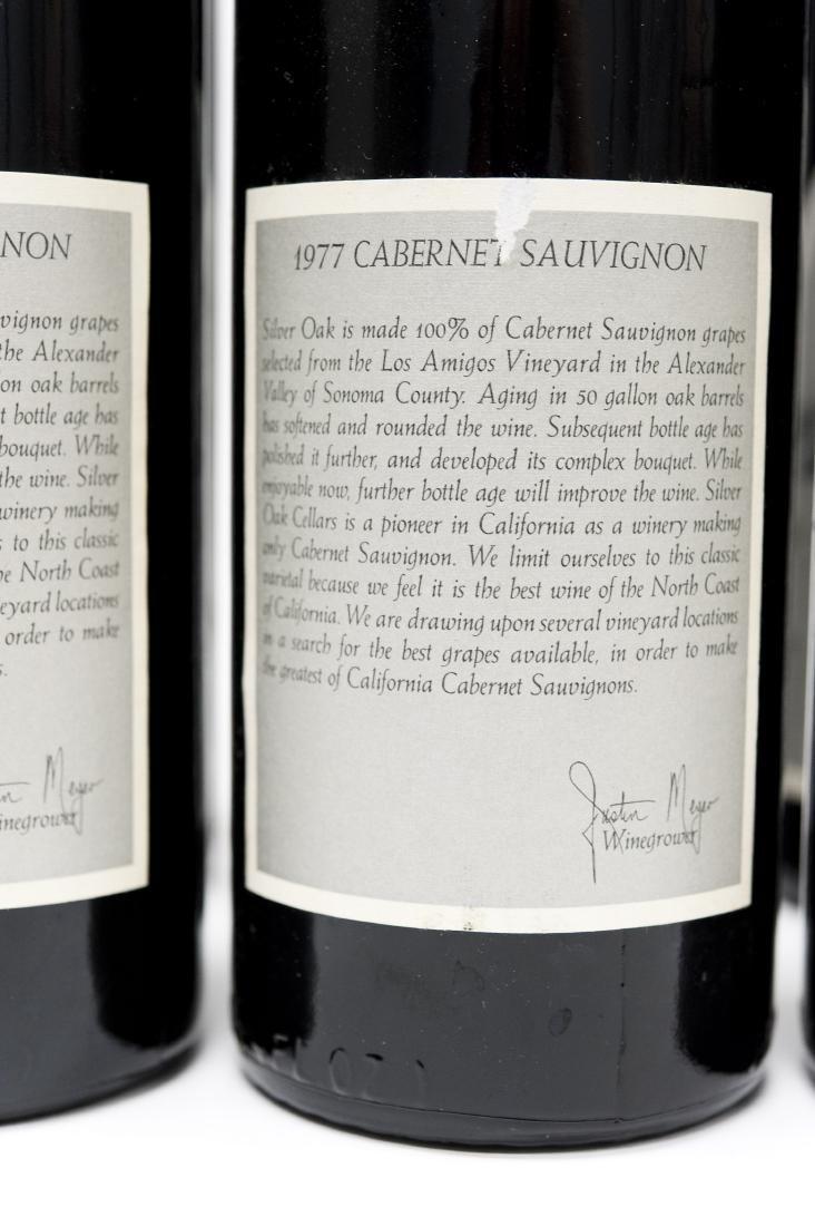 (6) Bottles, 1977 Silver Oak Cabernet. - 4