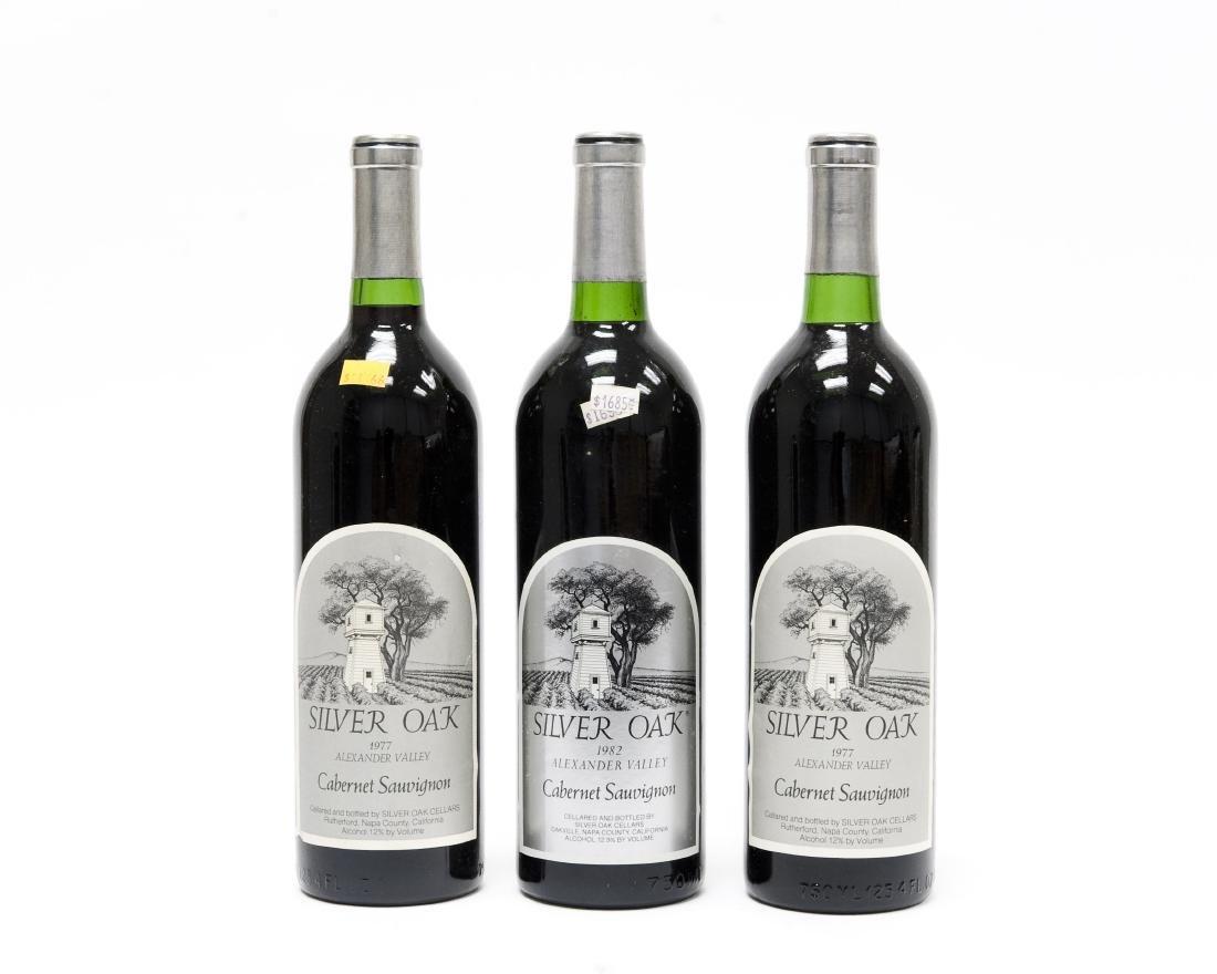 (6) Bottles, 1977 Silver Oak Cabernet. - 7