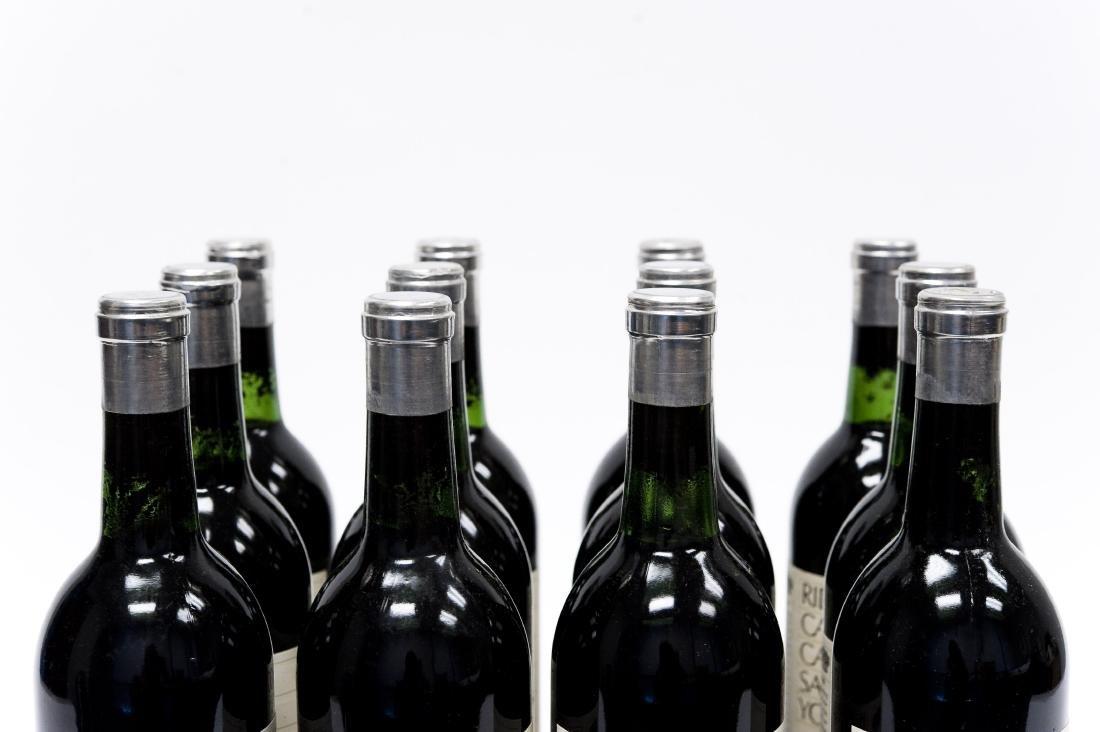 (12) Bottles, Ridge 1978 York Creek Cabernet. - 3