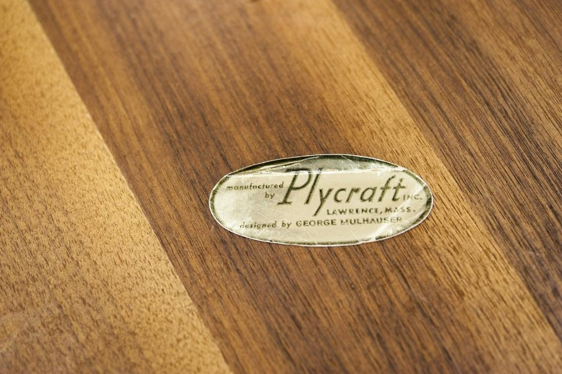 Plycraft Mr. Chair and Ottoman. - 5