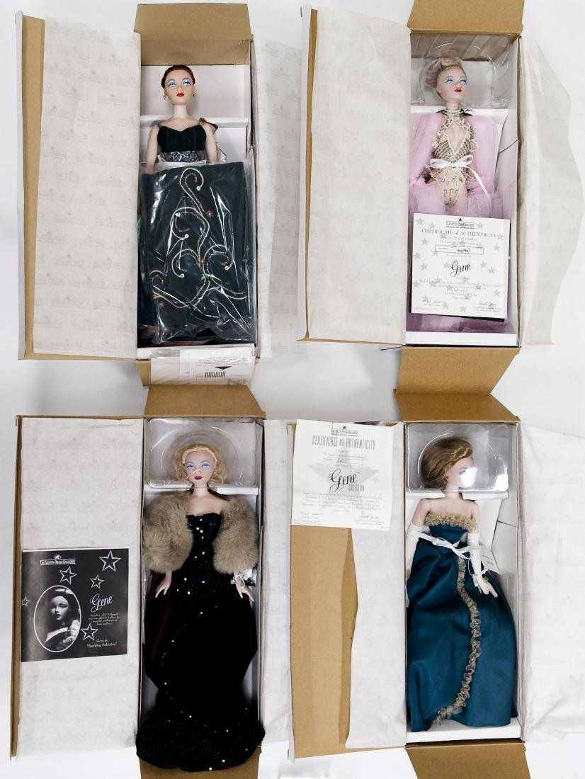 (4) Ashton-Drake Galleries Gene Dolls.