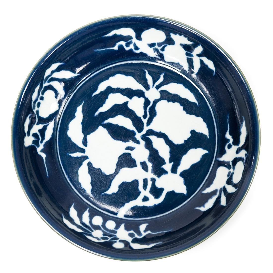 Chinese Blue & White Large Ceramic Bowl.