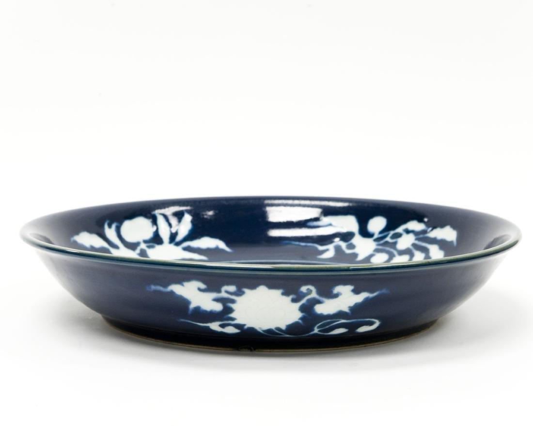 Chinese Blue & White Large Ceramic Bowl. - 3