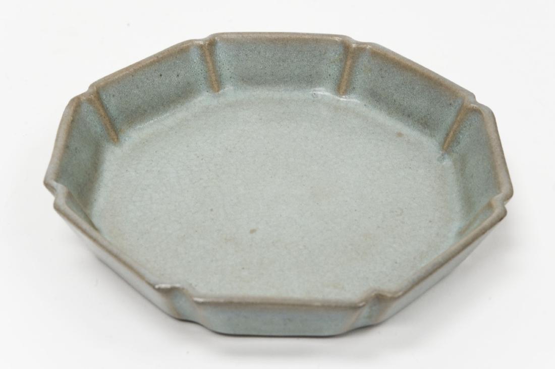 Chinese Glaze Porcelain Dish. - 2