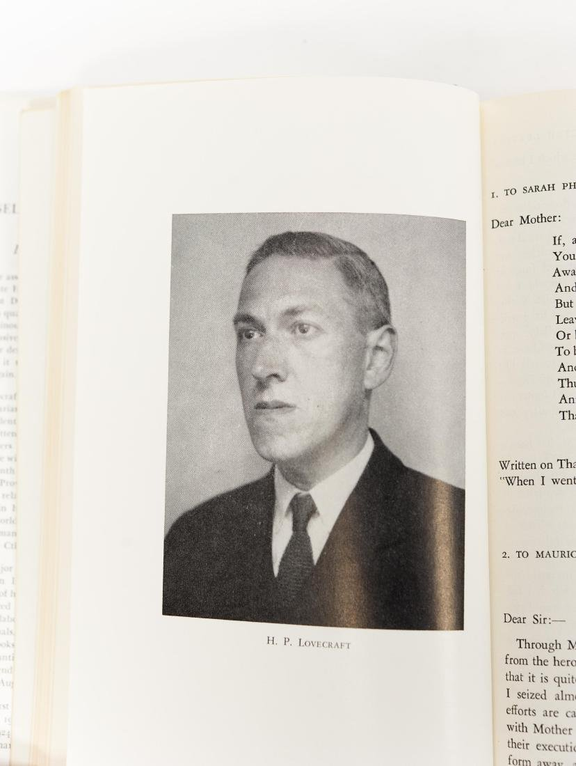(5) Volumes, The Selected Letters by H. P. Lovecraft. - 4