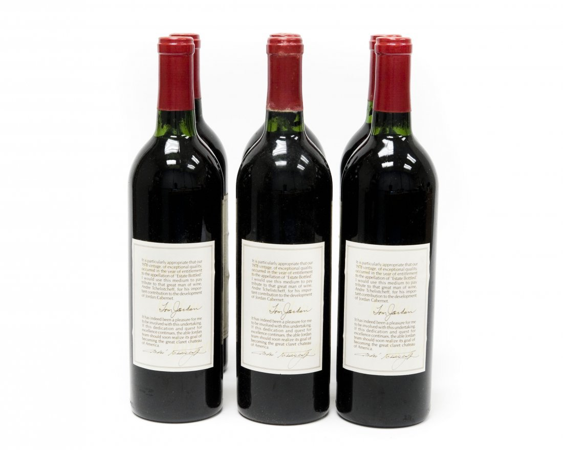 (6) Bottles, Jordan 1978 Cabernet Sauvignon. - 4