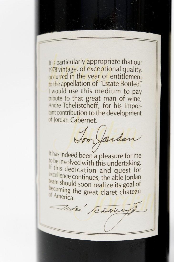 (6) Bottles, Jordan 1978 Cabernet Sauvignon. - 5
