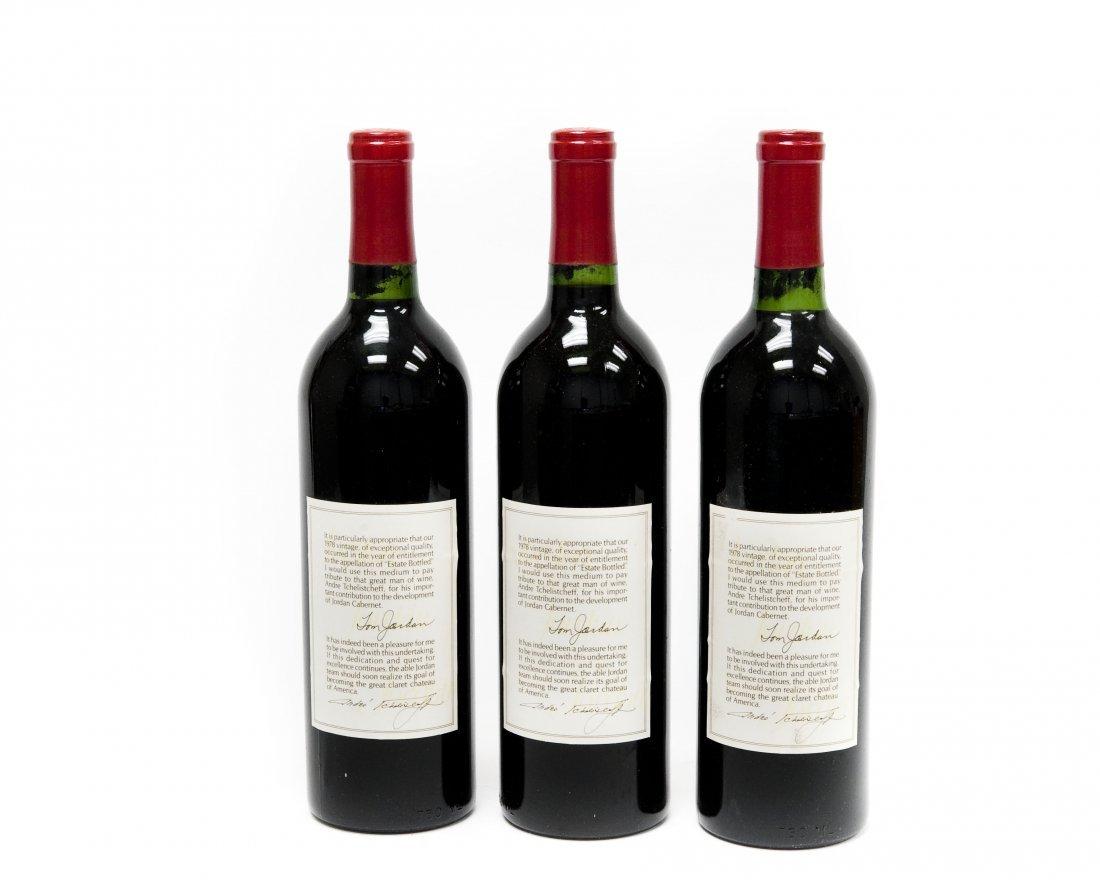 (6) Bottles, Jordan 1978 Cabernet Sauvignon. - 6