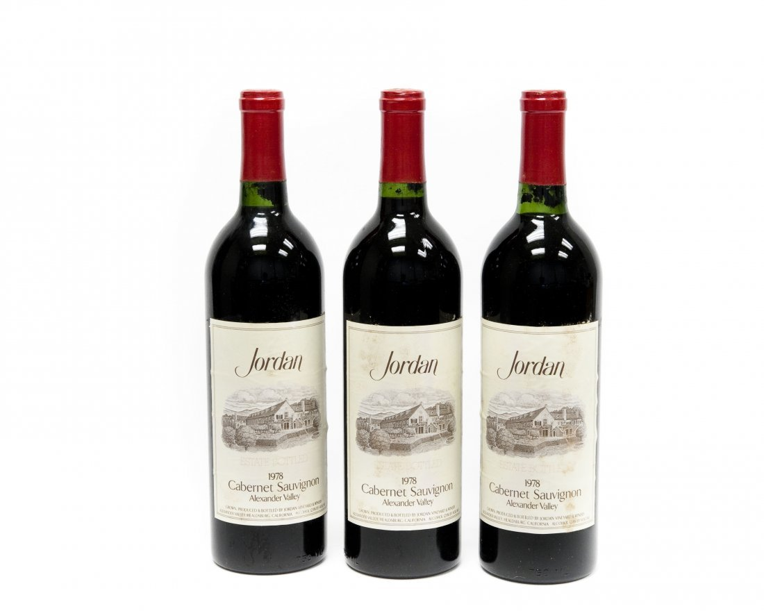 (6) Bottles, Jordan 1978 Cabernet Sauvignon. - 7