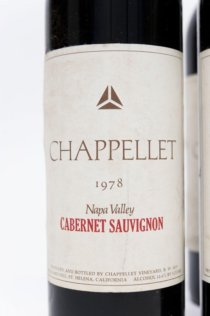 (6) Bottles, Chappellet Cabernet Sauvignon. - 2