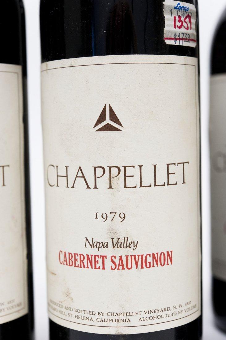 (6) Bottles, Chappellet Cabernet Sauvignon. - 3