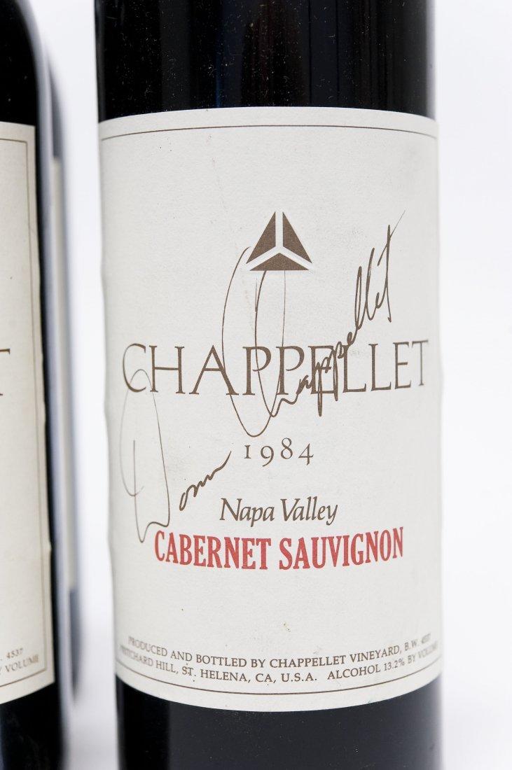 (6) Bottles, Chappellet Cabernet Sauvignon. - 5