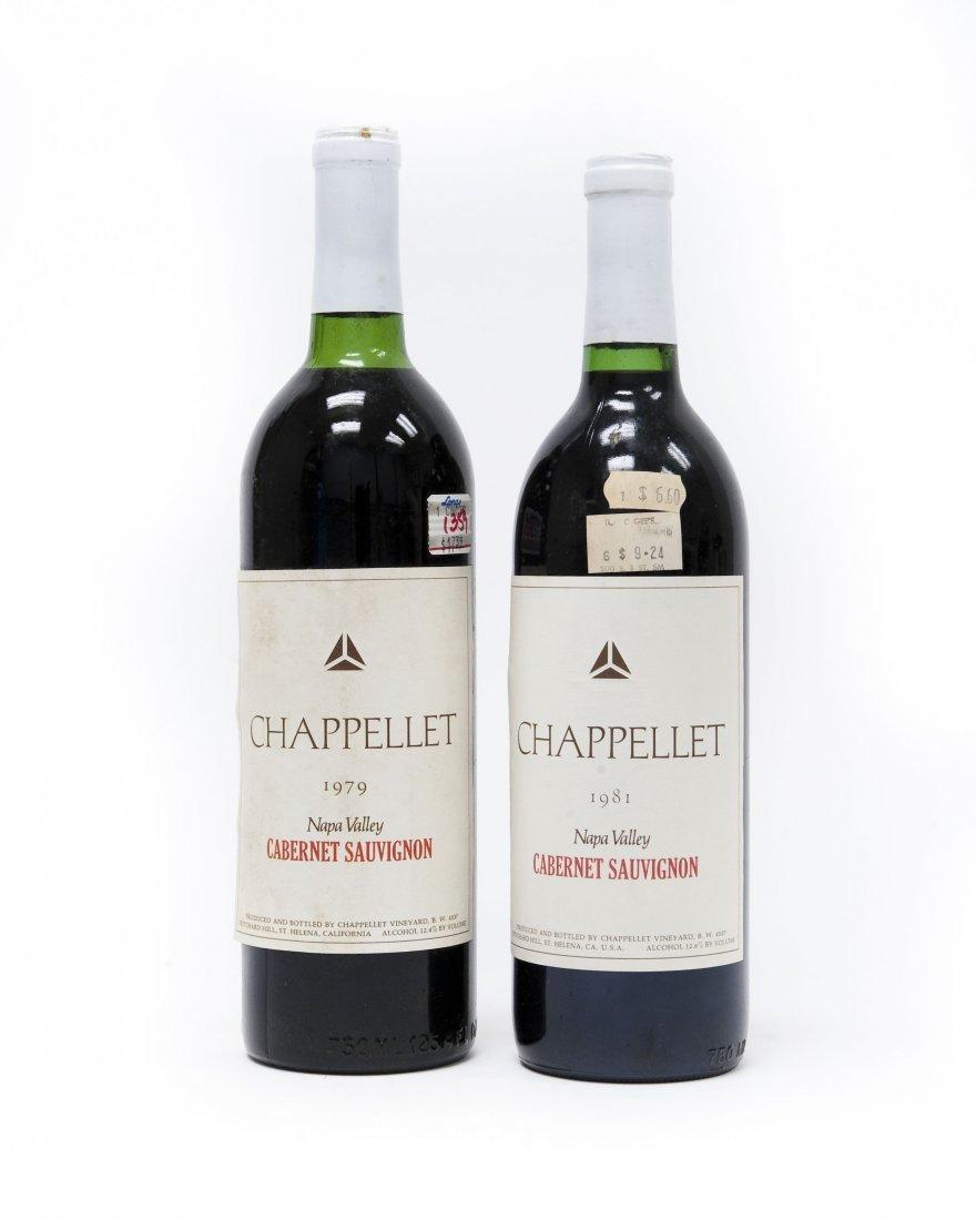 (6) Bottles, Chappellet Cabernet Sauvignon. - 8