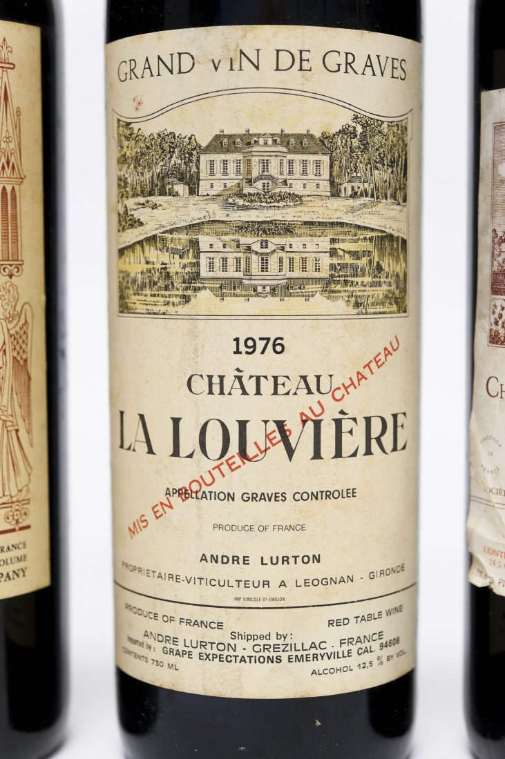 (5) Bottles, Assorted Bordeaux Red Wines. - 3